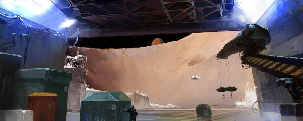 phobos moon mars base space doom