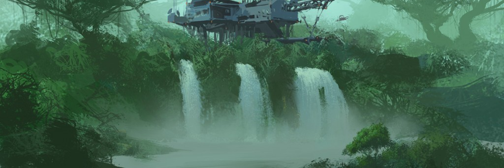 avatar avtr 2 avtr2 sequel concept jungle station waterfall