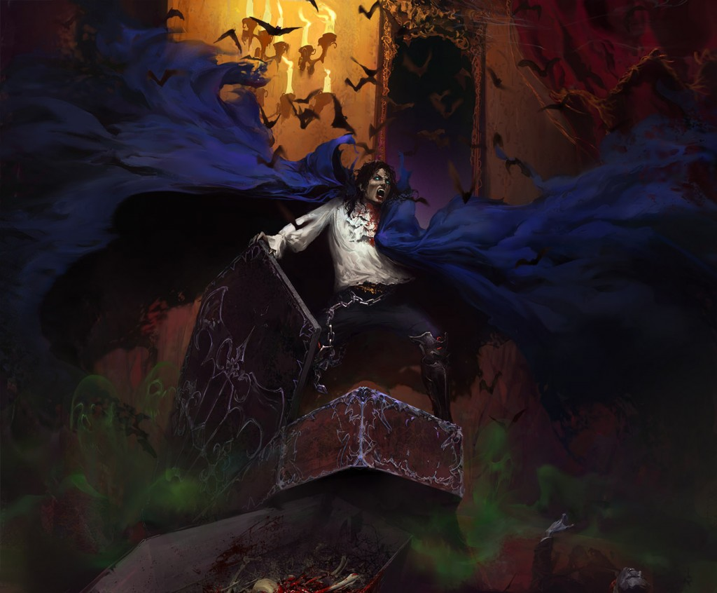 michael jackson dracula thriller undead vampire bats halloween cape